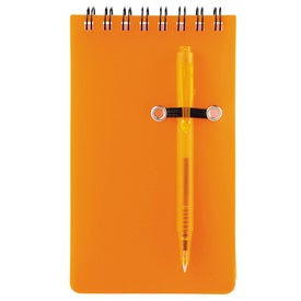 Daily Spiral Jotter Printed with Your Logo