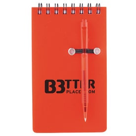 Monogrammed Daily Spiral Jotter