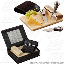 The Entertainers Wine & Cheese Set