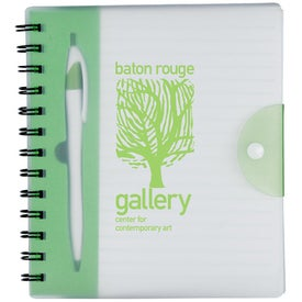 The Hideaway Notebook Imprinted with Your Logo