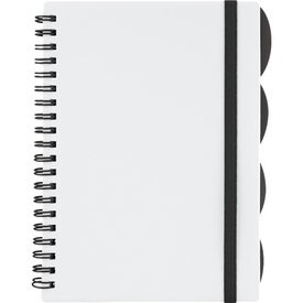 "The Large Divide Notebook 5"" x 7"" for Your Company"