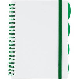 """The Large Divide Notebook 5"""" x 7"""" for Your Company"""
