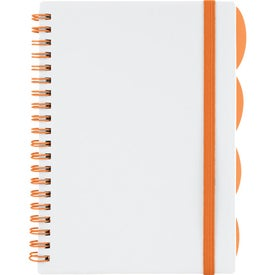 """The Large Divide Notebook 5"""" x 7"""" for Your Organization"""