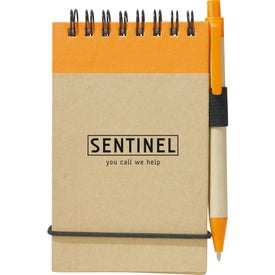 Imprinted Recycled Jotter and Pen