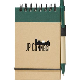 Recycled Jotter and Pen for Advertising