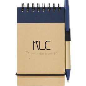 Logo Recycled Jotter and Pen