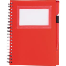 Branded Star Spiral Notebook