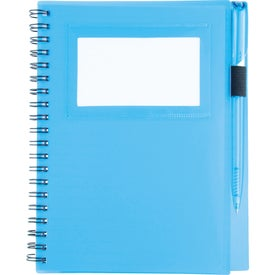 Logo Star Spiral Notebook