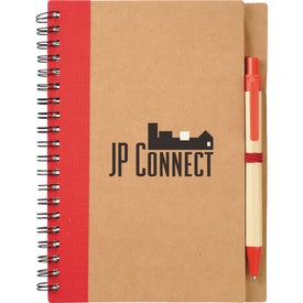 Eco Spiral Notebook and Pen