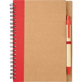 Company Eco Spiral Notebook and Pen