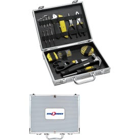 Advertising Tool Set Brief Case
