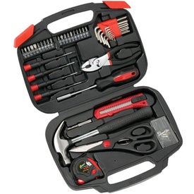 Imprinted Tool Set with Bi-Fold Carrying Case