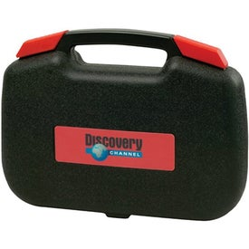 Tool Set with Bi-Fold Carrying Case
