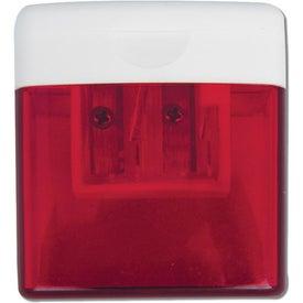 Imprinted Translucent Pencil Sharpener