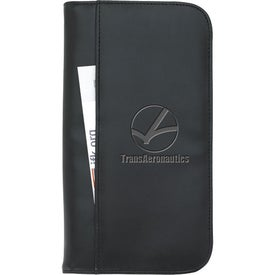 Travel Zippered Wallet for Marketing