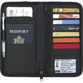 Travel Zippered Wallet for Your Company