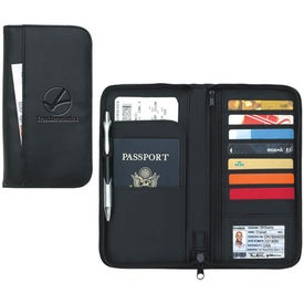 Travel Zippered Wallet