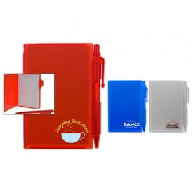 Trendy Compact Notebook Set with Your Slogan