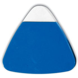 The Triad Eraser & Sharpeners Branded with Your Logo