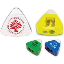 "The Triad Eraser and Sharpeners (2"" x 2"")"