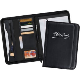 Tuscany Zippered Padfolio