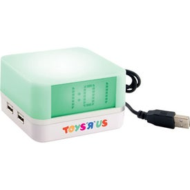 Clock With USB HUB for your School
