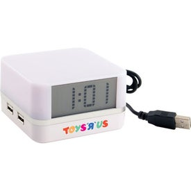 Clock With USB HUB for Marketing