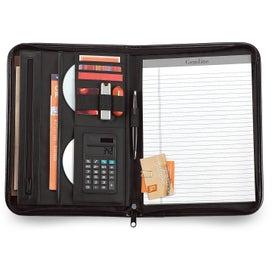 Company Vanguard Leather Calculator Padfolio