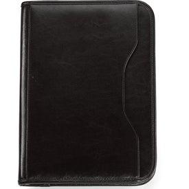 Promotional Vanguard Leather Calculator Padfolio