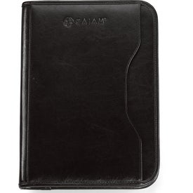 Custom Vanguard Leather Calculator Padfolio