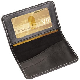 Victory Gift Set Business Card Case and Rollerball Pen for Customization