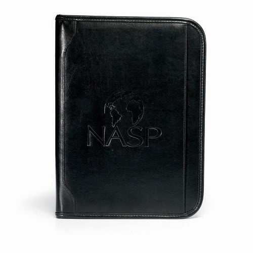 Black Vintage Leather E Padfolio