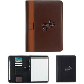 Vintage Style Padfolio Branded with Your Logo