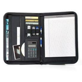 Personalized Wall Street Calculator Padfolio