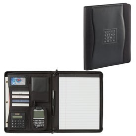 Wave Zippered Padfolio