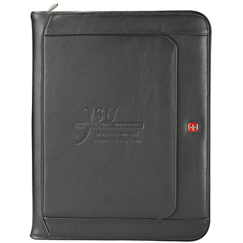 Wenger Executive Leather Zippered Padfolio
