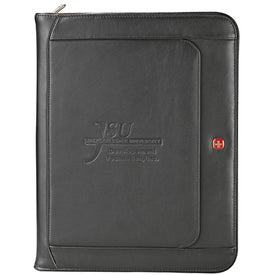 Wenger Executive Leather Zippered Padfolios