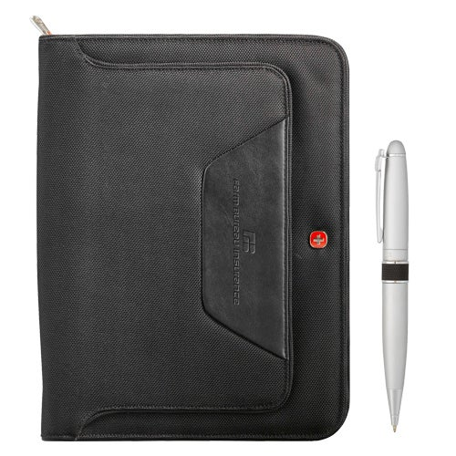 Wenger Ballistic Zippered Padfolio Bundle Set