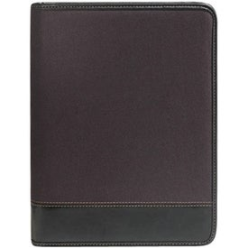 Westport Zippered Padfolio with Your Slogan