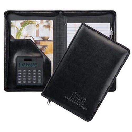 Wexford Jr. Zippered Padfolio with Calculator