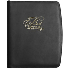 Wexford Zippered Padfolio with Calculator