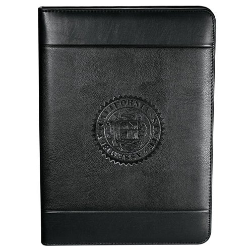 Black Windsor Impressions Presentation Padfolio