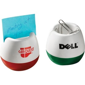 Wobble Clip and Memo Holder with Your Logo