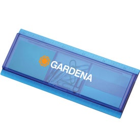 Work Rules Desk Organizer with Your Logo