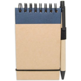 Imprinted World Eco Jotter
