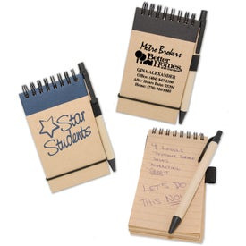 World Eco Jotter for Your Company