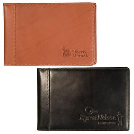 York Calfskin Brag Book Printed with Your Logo
