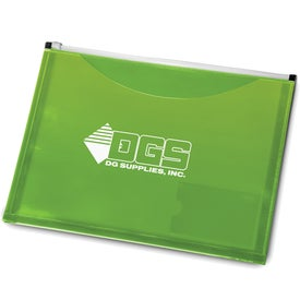 Zip It Travel Pocket Portfolio Printed with Your Logo