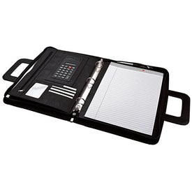 Logo Zippered 3-Ring Binder