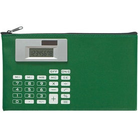 Branded Zippered Case With Calculator